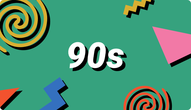 90s Theme Hero Image